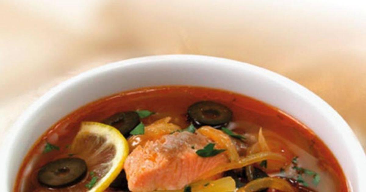 Рыбная солянка, рецепт с фото | волшебная eда.ру