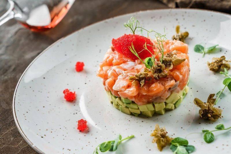 Рыбное севиче из лосося рецепт с фото - 1000.menu