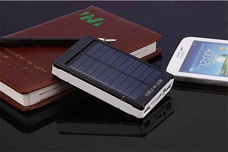 Обзор powerbank 20000 мач на солнечных батареях