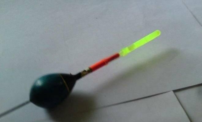 Светлячки для рыбалки ночные - как сделать своими руками