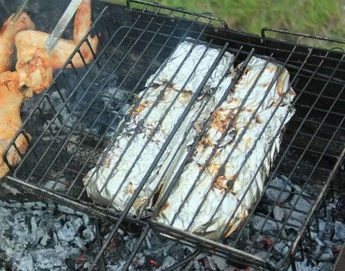 Шашлыки из кеты (на углях в мангале, на решетке): рецепты, лучшие маринады