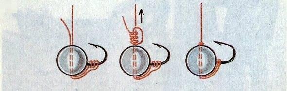 Как привязать мормышку