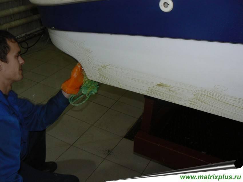 Краска для катеров, яхт и лодок – выбор и порядок применения