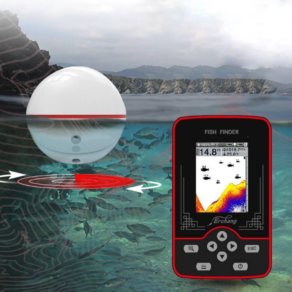 Беспроводной эхолот fish finder: характеристики, принцип работы