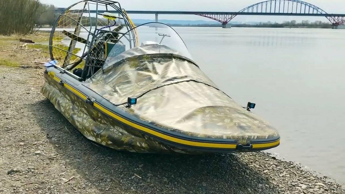 Аэролодки и свп (суда на воздушной подушке) | журнал катера и яхты