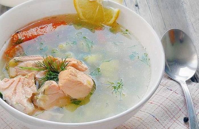Диетический рыбный суп, рецепты