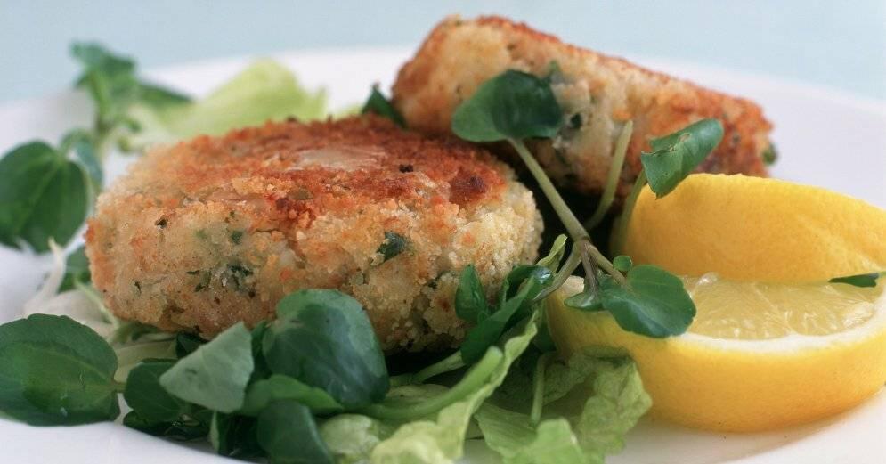 Котлеты из рыбного фарша в духовке - 7 пошаговых фото в рецепте
