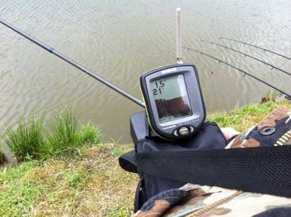 Как выбрать эхолот для рыбалки с берега
