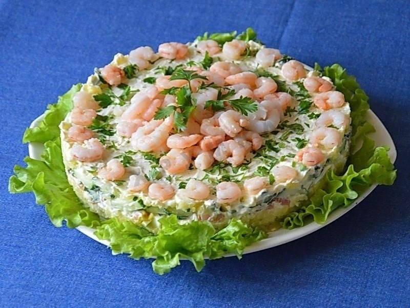 Салат с красной рыбой: 88 домашних вкусных рецептов приготовления