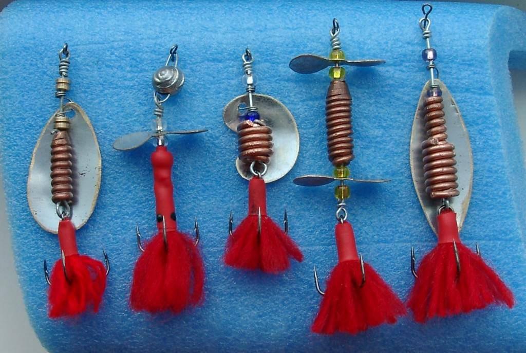 Блёсны на щуку и окуня своими руками: пошаговые инструкции