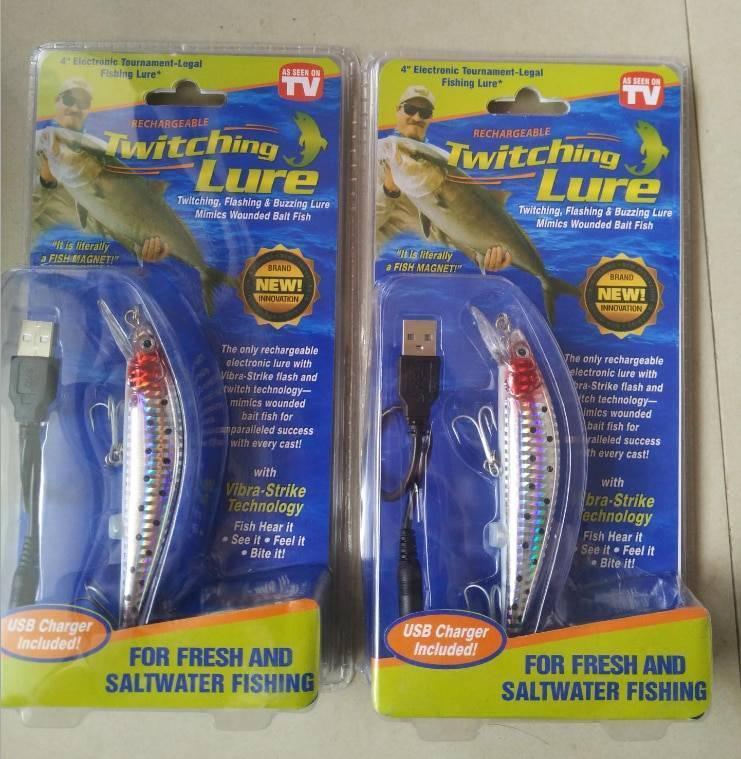 Разоблачение twitching lure (приманка для рыб)