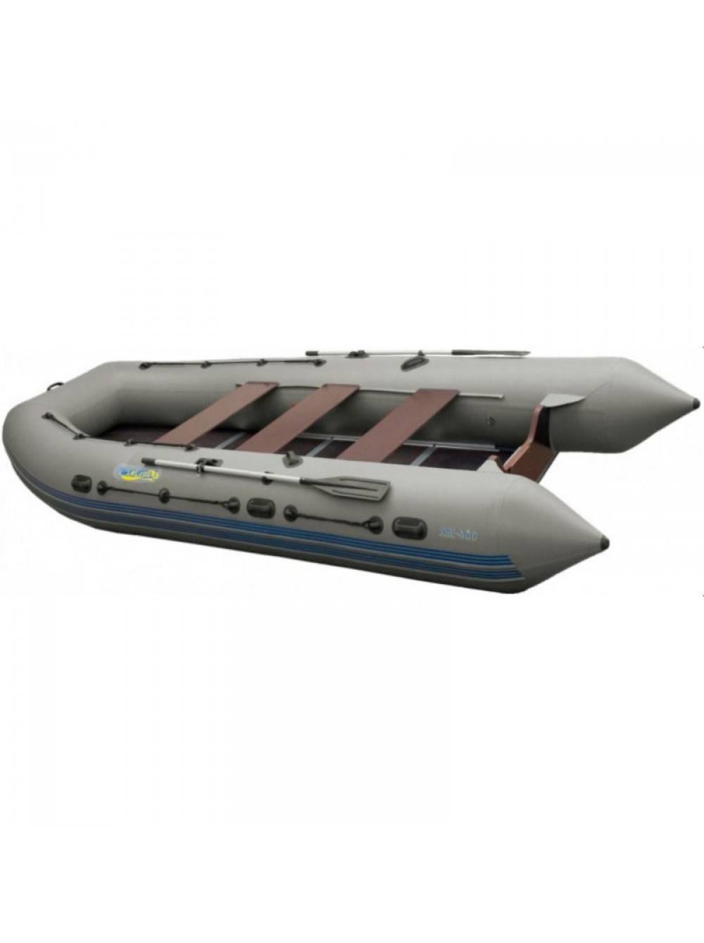 Надувная 4-ёх местная пвх лодка адмирал 320 classic