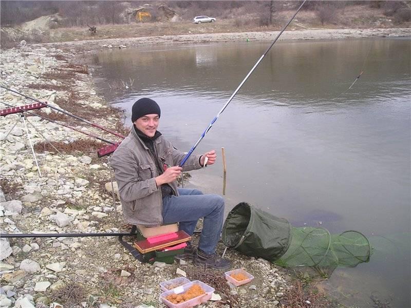 Ловля уклейки на поплавочную удочку