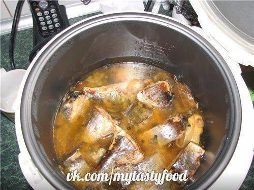 Как приготовить рыбные консервы в мультиварке?