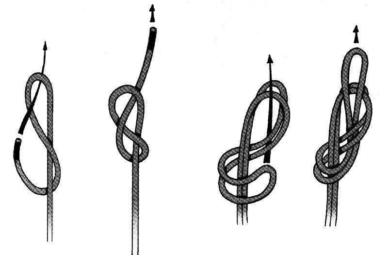 Узел восьмерка: как вязать, пошаговая схема, проводник для рыбалки на видео