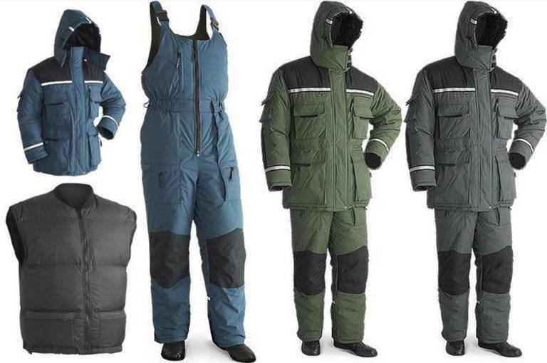 Лучшие костюмы для зимней рыбалки