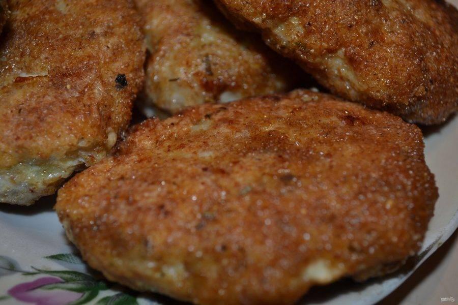 Рыбные котлеты из готового фарша - 9 пошаговых фото в рецепте
