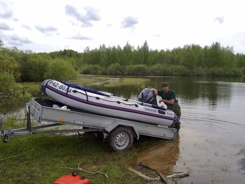 Прицепы для лодок из пвх: виды, выбор и применение