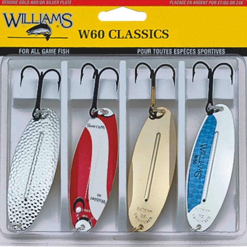 Обзор на блесны колебалки williams. как отличить подделку блесны williams