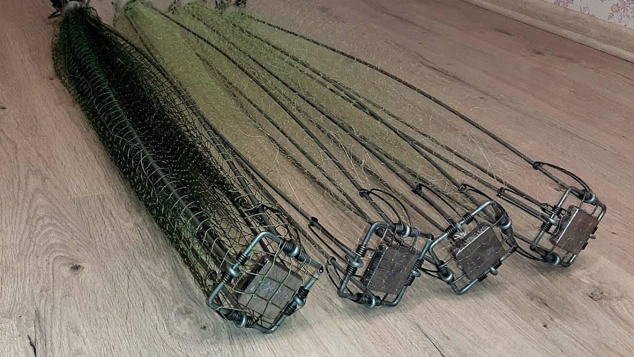 Снасть «комбайн» для зимней рыбалки