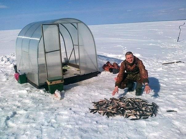 На родной стороне и камешек знаком, особенности национальной зимней рыбалки