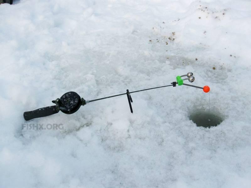 Зимний фидер со льда (подледный): оснастка, принцип работы