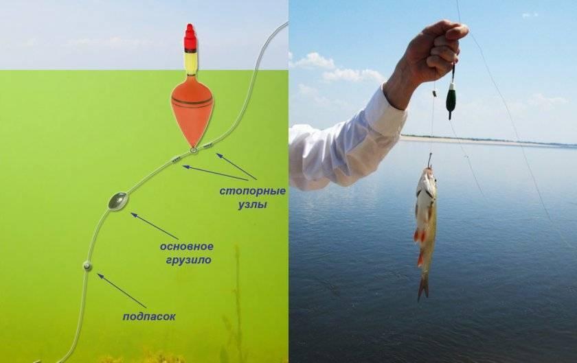Рыбалка поплавочной удочкой — оснастка и процесс ловли