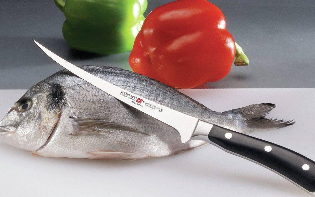 Как выбрать нож для рыбалки?