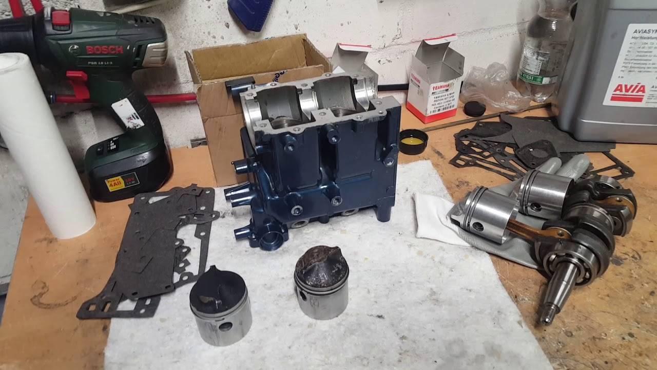 Как обслуживать двухтактный подвесной лодочный мотор