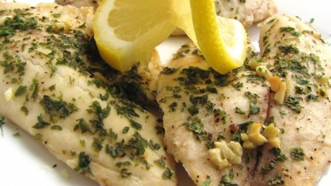 Филе тилапии на сковороде рецепт с фото - 1000.menu