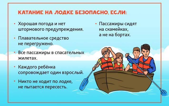 Техника безопасности на рыбалке