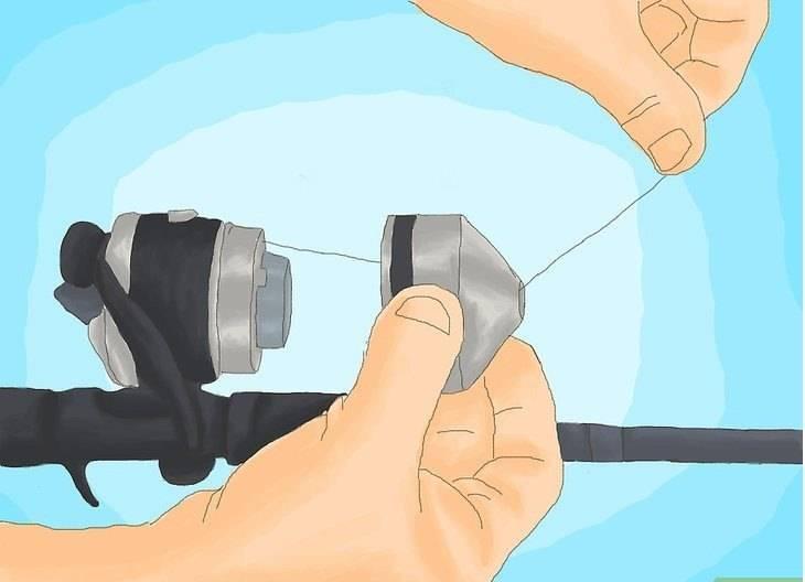 Как правильно намотать леску на катушку спиннинга