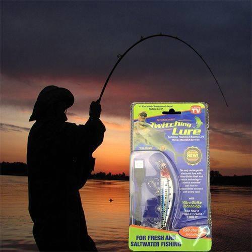 Twitching lure инновационная приманка для рыб: перед ней невозможно устоять!