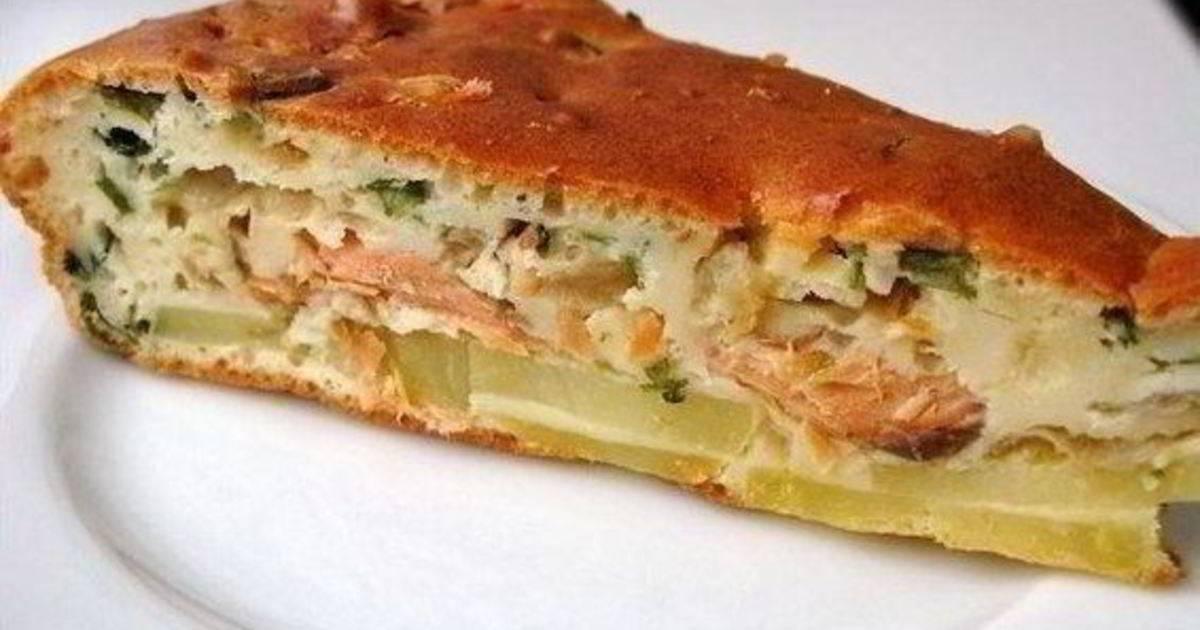 Пирог на кефире -  10 изумительных рецептов с фото