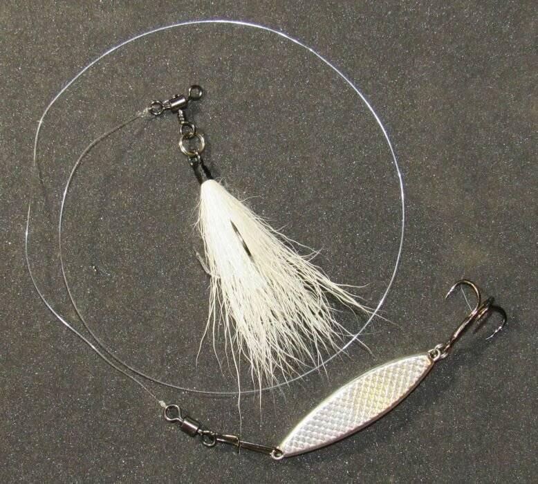 Оснастка бородка для рыбалки. ловля хищника на бородку