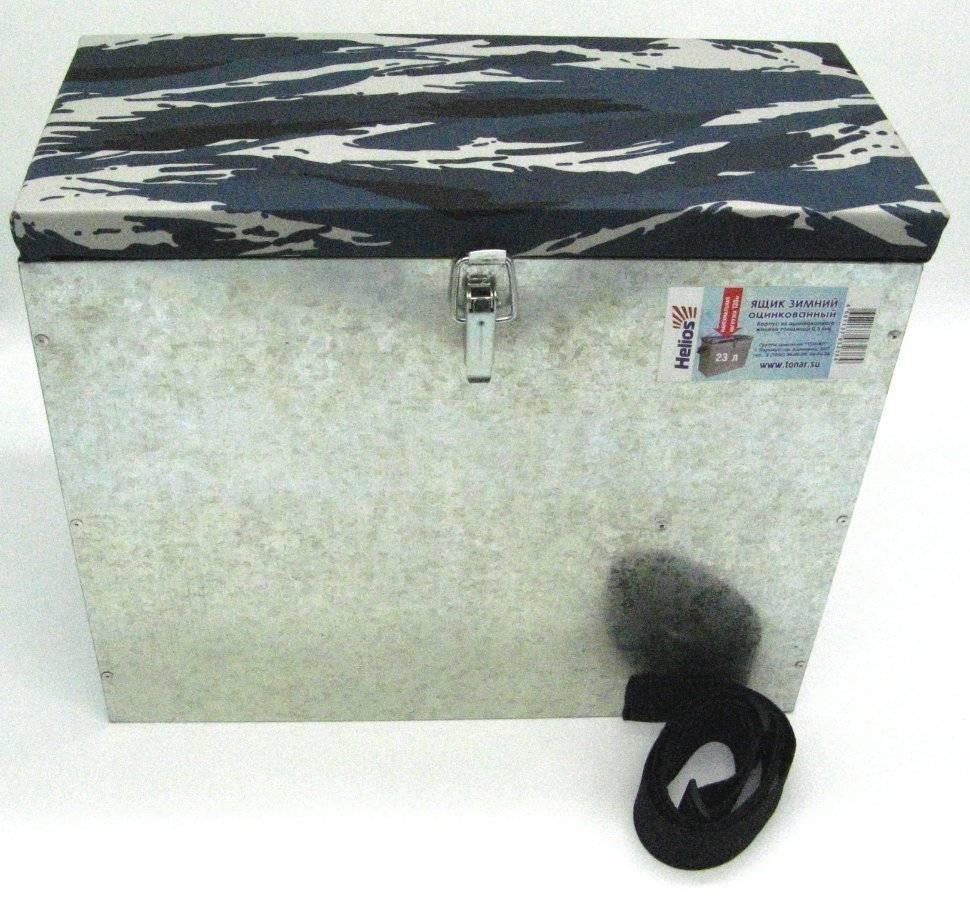 Ящик для зимней рыбалки: топ моделей, стоим своими руками