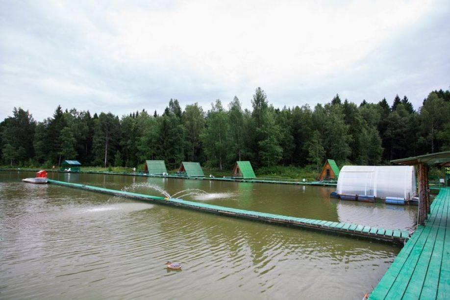 Рыбалка в Хомяково Сергиево-посадского района
