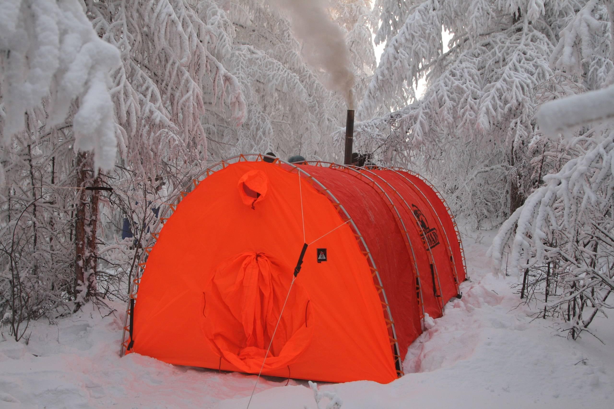 Виды отопления для палатки или обогрев без угара