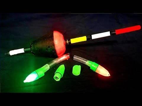 Светлячок для ночной рыбалки как сделать своими руками?