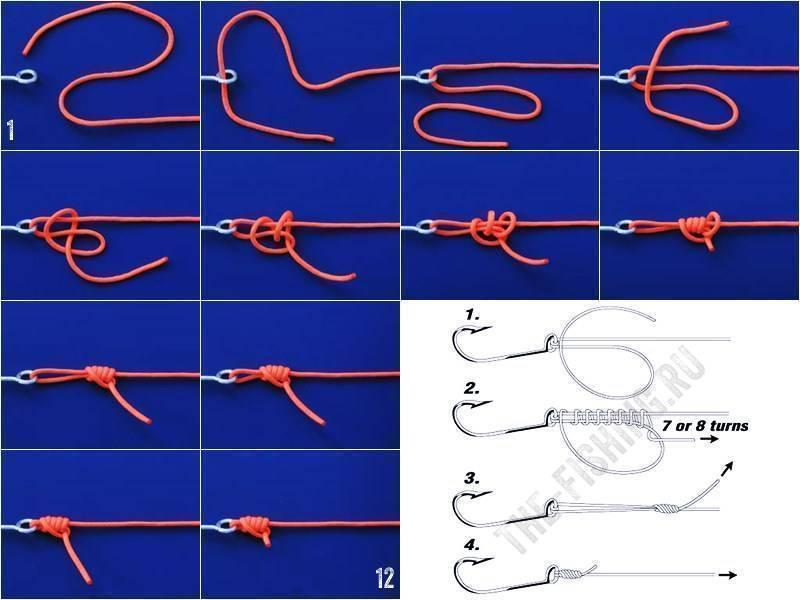 Рыболовные узлы: как вязать правильно + ВИДЕО