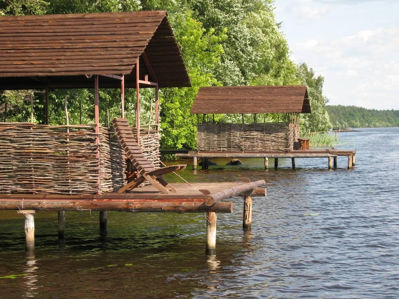 """Рыболовная база """"рыбацкая деревня"""" - читайте на сatcher.fish"""