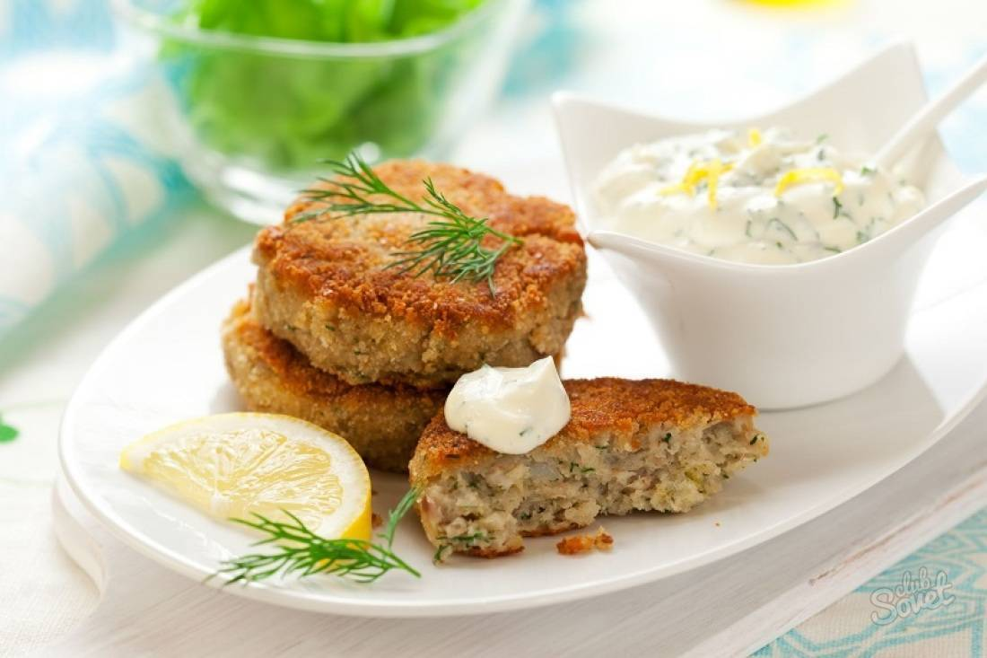 Рыбные котлеты для детей / блюда из рыбного фарша / tvcook: пошаговые рецепты с фото