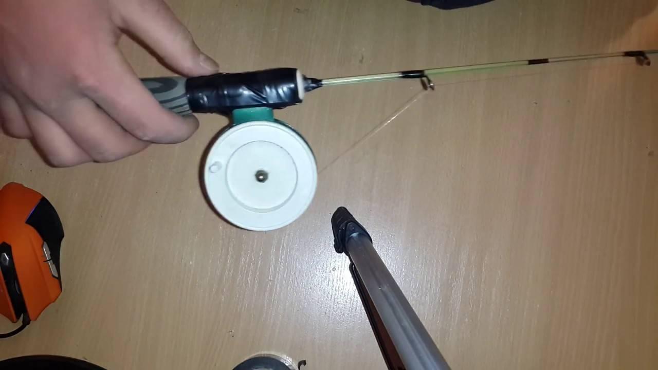 Удочки для зимнего блеснения окуня и техника его ловли
