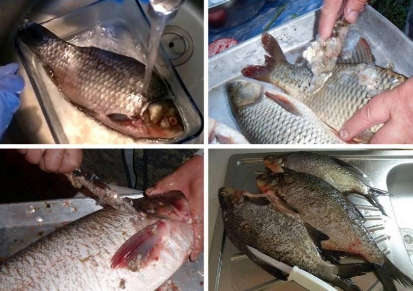 Как ичем быстро почистить рыбу отчешуи?
