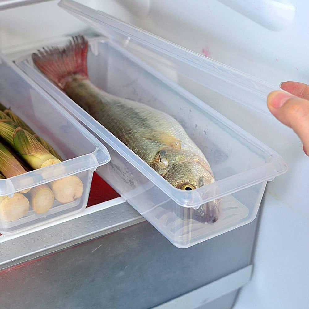 Сколько можно и как хранить замороженную рыбу в морозилке