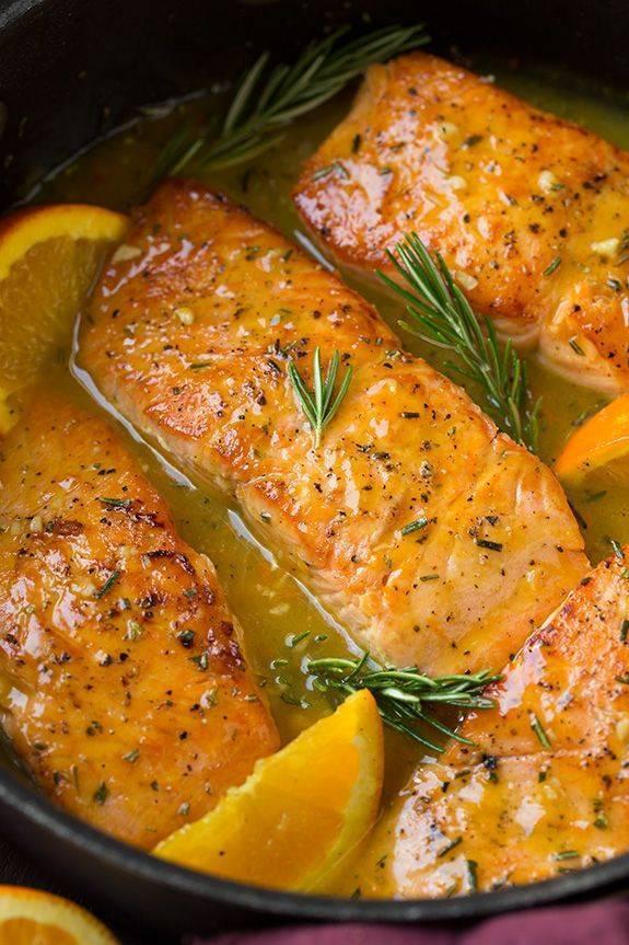 Как пожарить красную рыбу, чтобы она была вкусной и сочной?