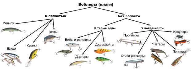 Классификация и маркировка воблеров: виды, обозначения, таблица маркировки, названия с фото