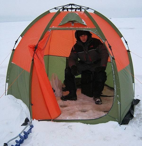 5 лучших зимних палаток