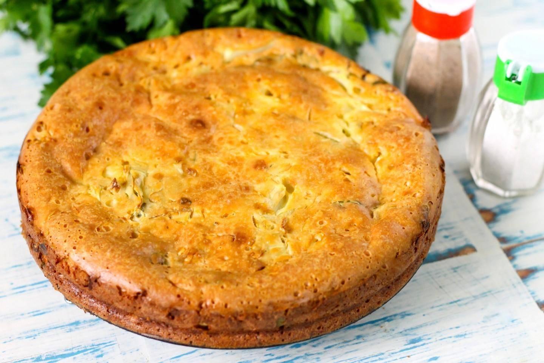Заливной пирог с рыбными консервами - 5 простых и быстрых рецептов с фото пошагово