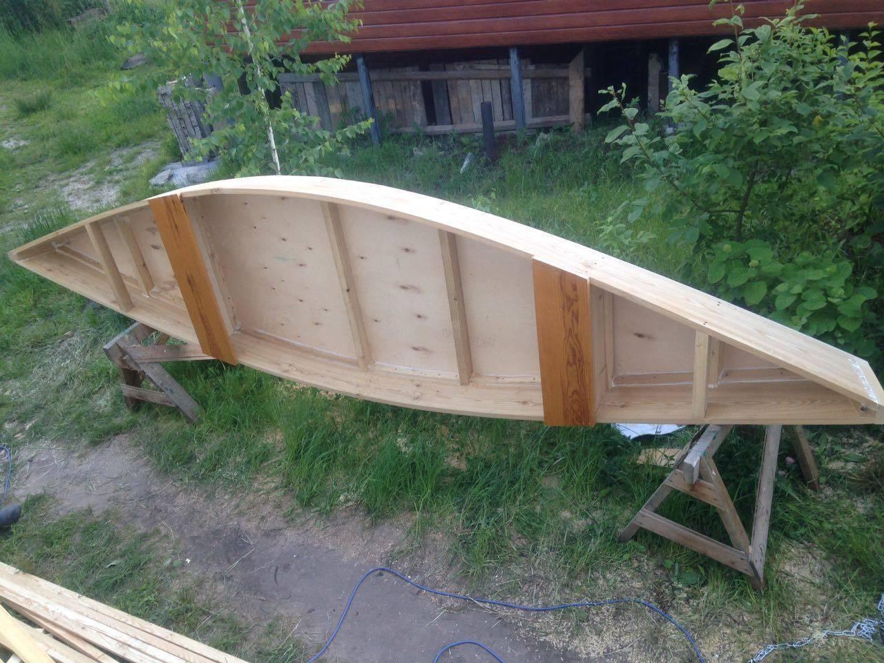 Как сделать деревянную лодку из досок своими руками?